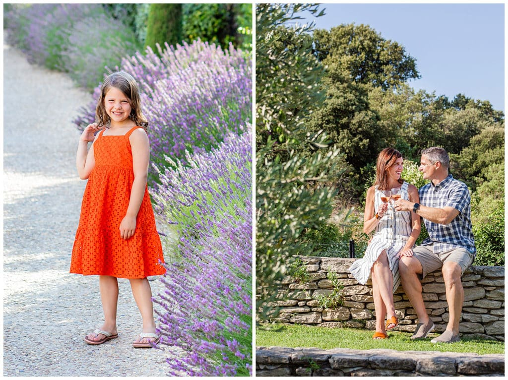 A Provence family photo session in Bonnieux and Lourmarin, Luberon