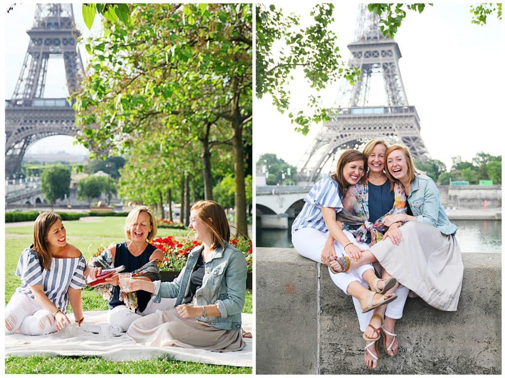 Une séance photo mère fille en délires et en fous rires à Paris
