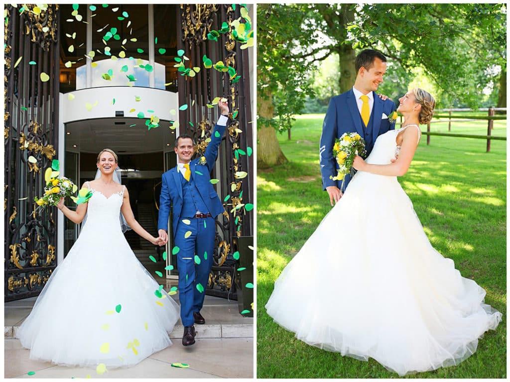 Un mariage champêtre au Domaine de la Vallée aux Pages