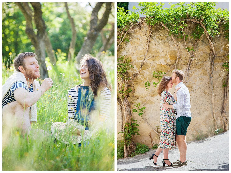 Marie Calfopoulos Engagement Wedding Photographer Photographe Mariage Paris Provence Luberon Avignon France