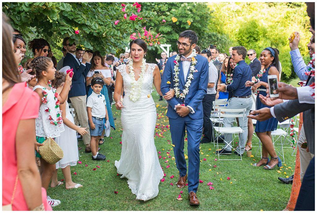 Un mariage Hawaïen en Provence au Chateau La Tour Vaucros à Sorgues