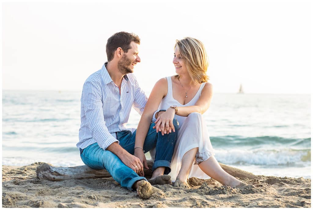 An engagement and family photo session on Espiguette beach in Le Grau du Roi in Camargue