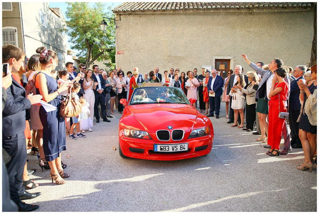 Mariage religieux à l'église de Mazan Vaucluse