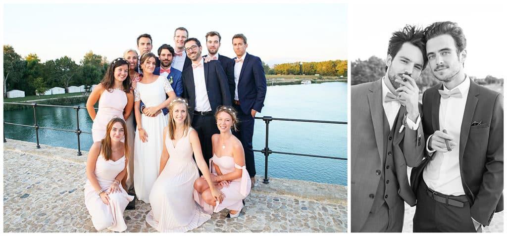 Cocktail de mariage sur le Pont d'Avignon Vaucluse