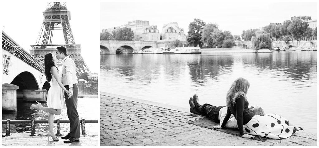 Lieux pour une séance photo à Paris : quais de Seine