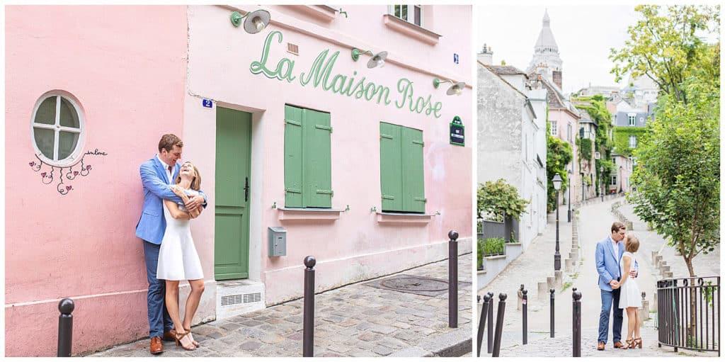 Locations for a Paris photo session: Montmartre