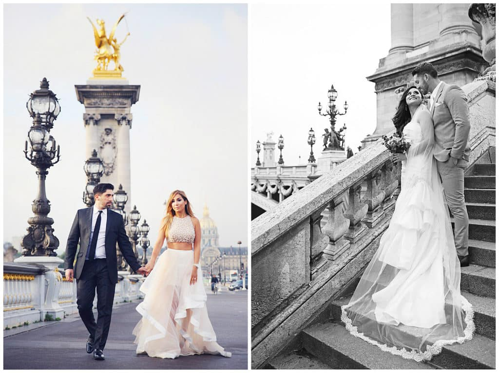 Lieux pour une séance photo à Paris : Pont Alexandre III