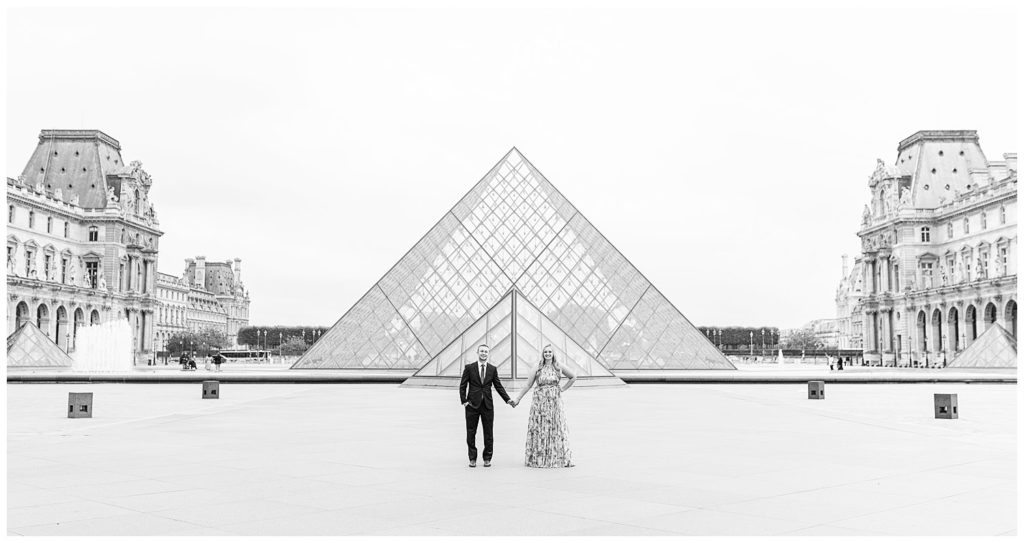 Lieux pour une séance photo à Paris : Musée et pyramide du Louvre