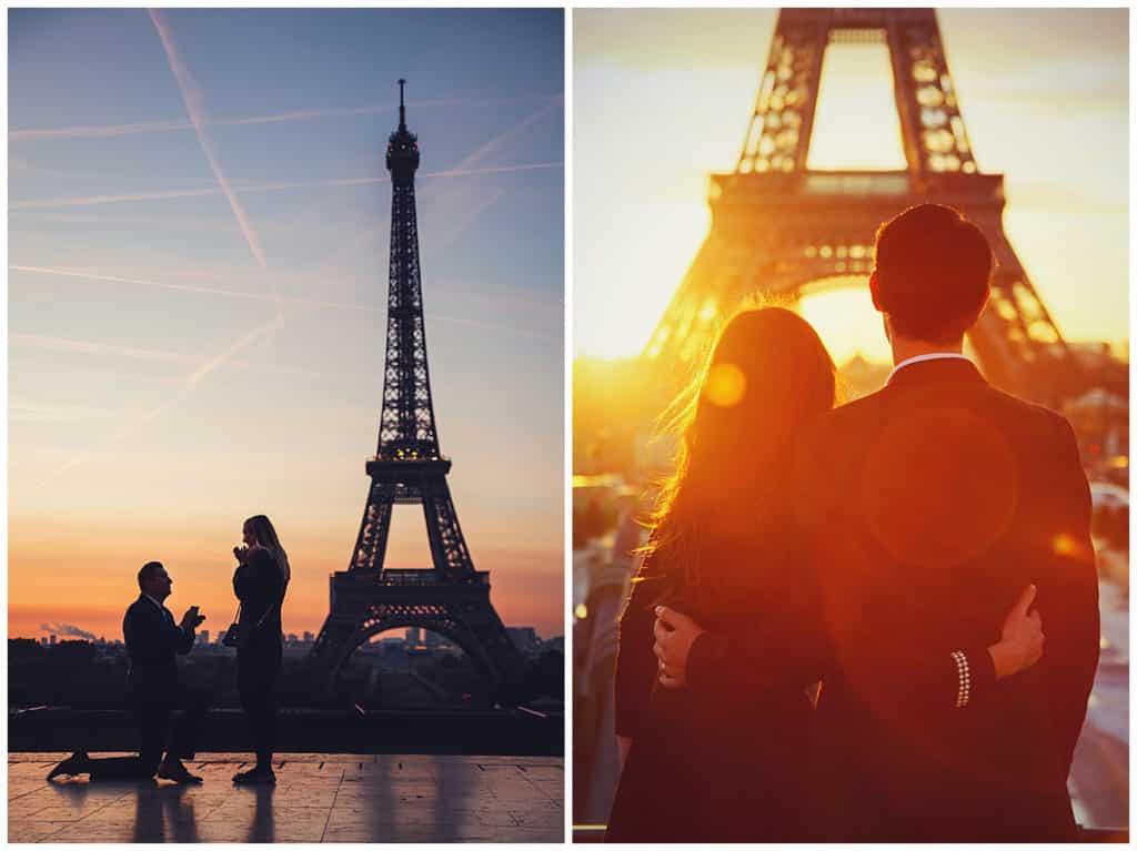 Lieux pour une séance photo à Paris : Tour Eiffel, Trocadero