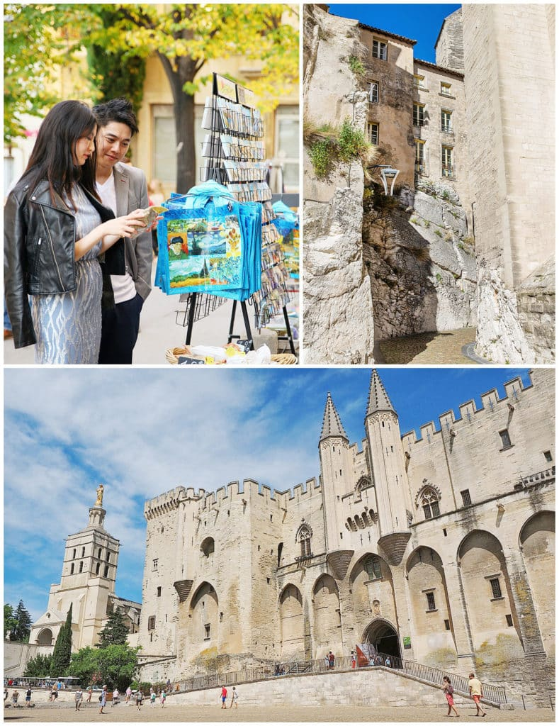 Location for a Provence photo session Avignon