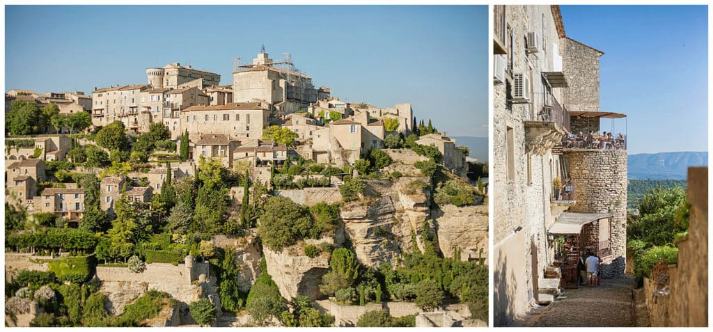 Location for a Provence photo session Gordes