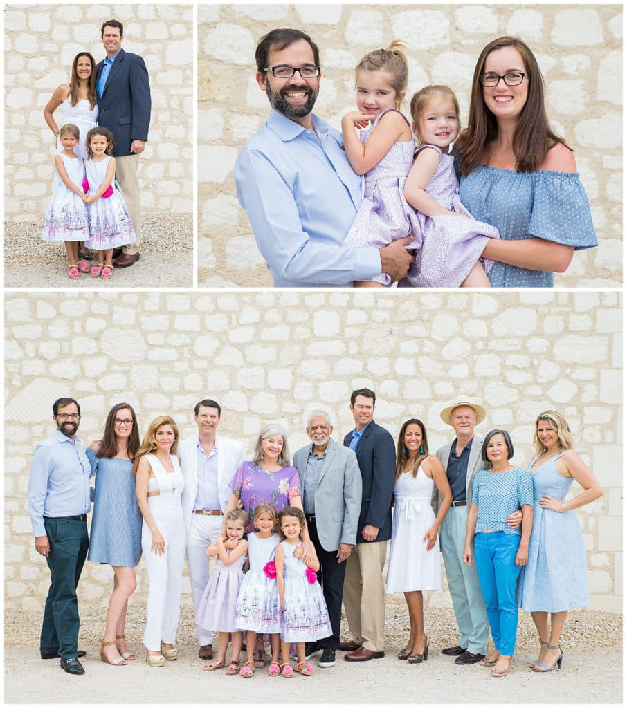 Family photo session in Provence