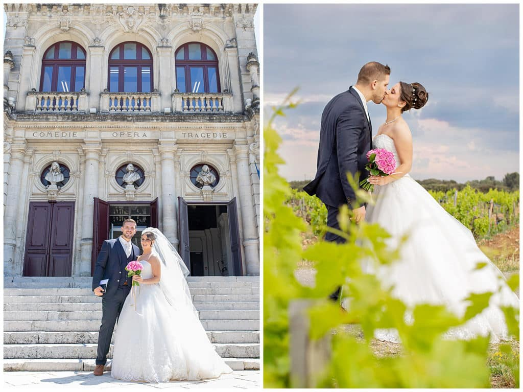 A Provence wedding in the heart of the Chateauneuf-du-Pape's vineyards at l'Espace de l'Hers