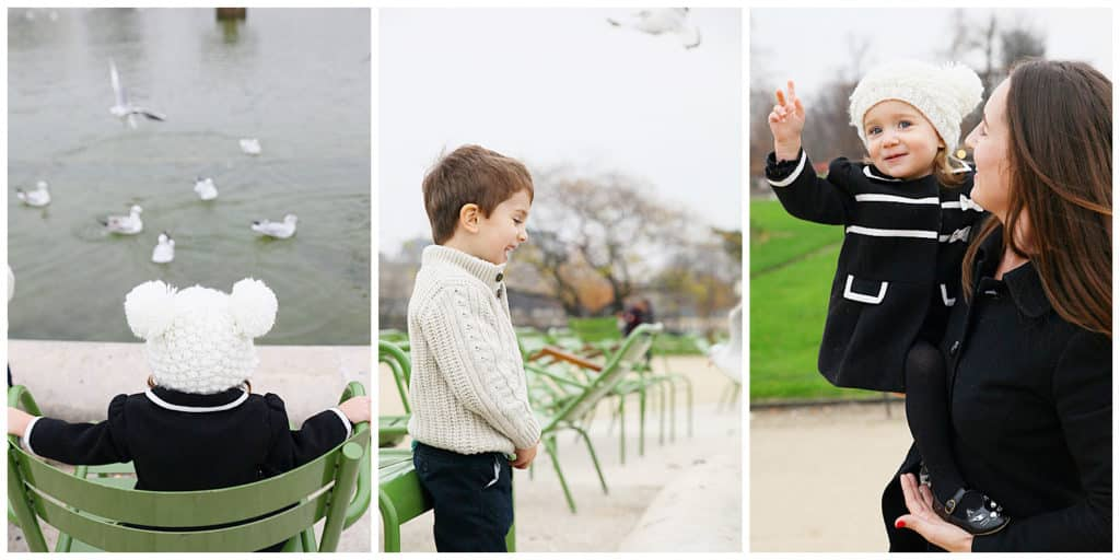 An adorable family photo session around Paris - Eiffel Tower, Montmartre and the Louvre