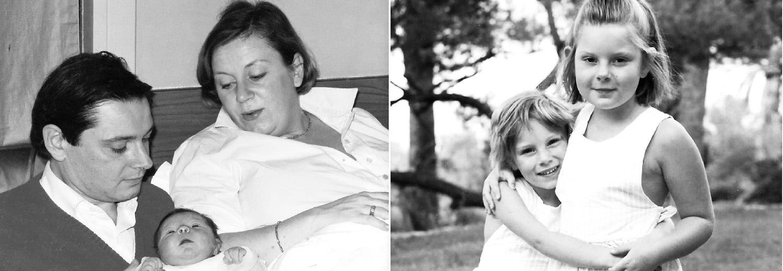 Vieilles photos de famille de la photographe Marie Calfopoulos