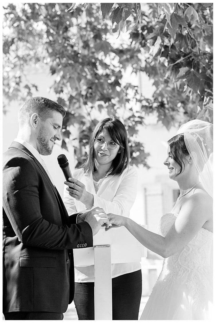 Marie Calfopoulos Wedding Photographer Elopement Espace de l'Hers Chateauneuf-du-Pape Provence